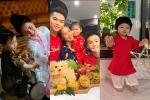Nhóc tỳ Vbiz vui Trung Thu: Mẹ con Hòa Minzy chơi quá lớn