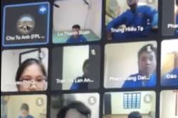 Sốc: Nam sinh xưng 'bố mày' với giảng viên trong lớp học online