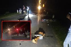 Đêm Trung thu: Nhiều xe máy lao vào nhau, 5 người tử vong