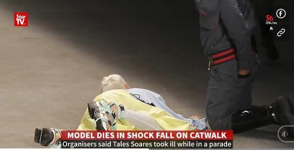 SỐC: Người mẫu đột tử khi đang catwalk trong show thời trang-4