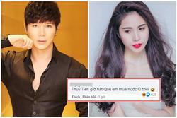 Netizen 'mách' Thủy Tiên hát bài khác sau khi mất hit vào tay Nathan Lee