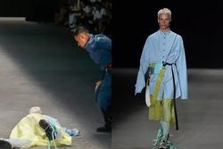 SỐC: Người mẫu đột tử khi đang catwalk trong show thời trang
