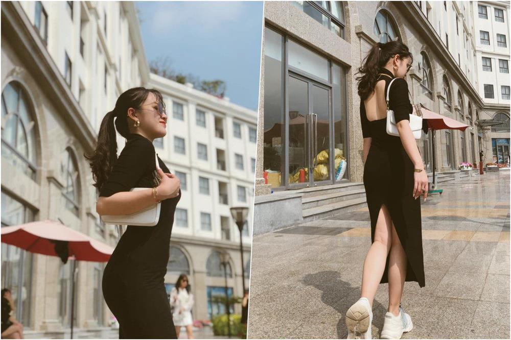 Style đen - trắng gợi cảm của cô tiểu tam Hương Vị Tình Thân-11