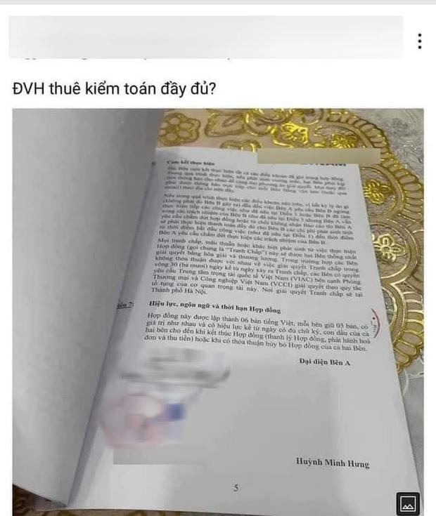 Lộ hợp đồng của Đàm Vĩnh Hưng và một công ty kiểm toán?-1