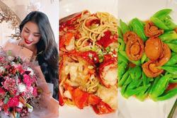 Phạm Hương chăm bếp núc sau sinh