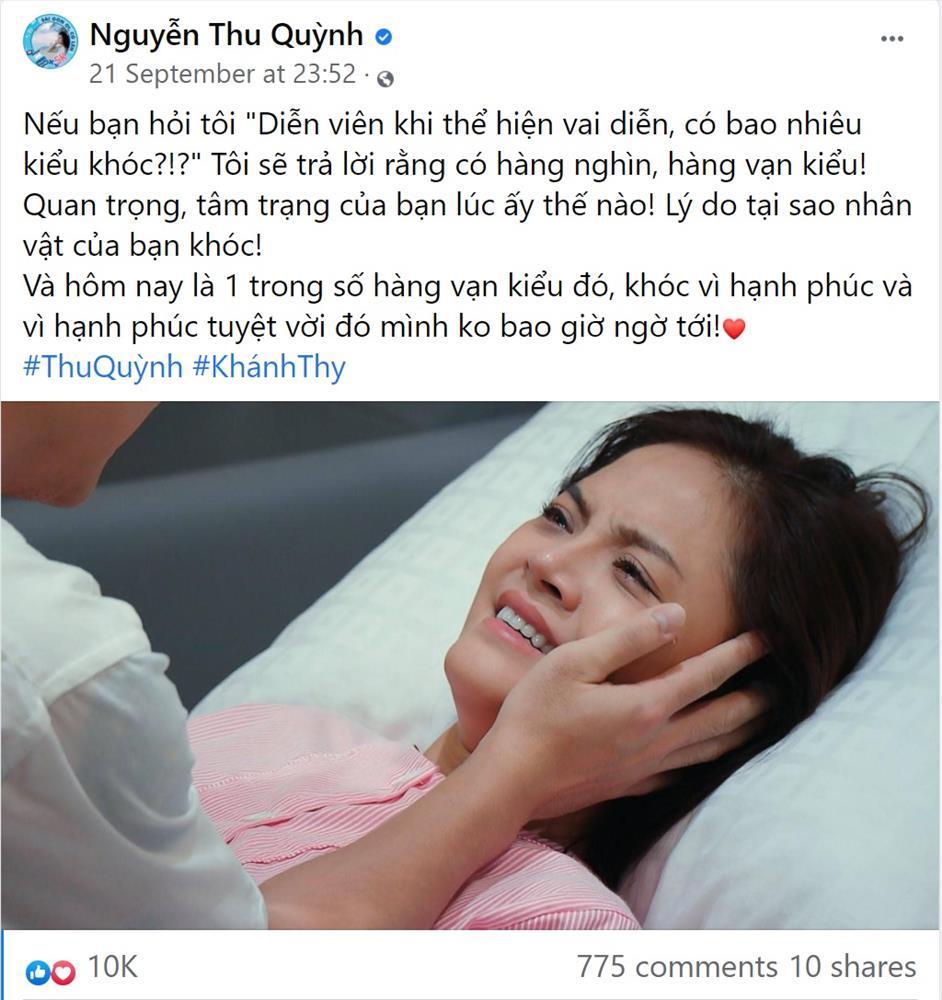 Thu Quỳnh tiết lộ tên con của Thy và Huy Hương Vị Tình Thân-3