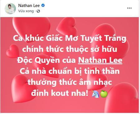 Clip Thủy Tiên hát Giấc Mơ Tuyết Trắng trước khi bị Nathan Lee vợt-1