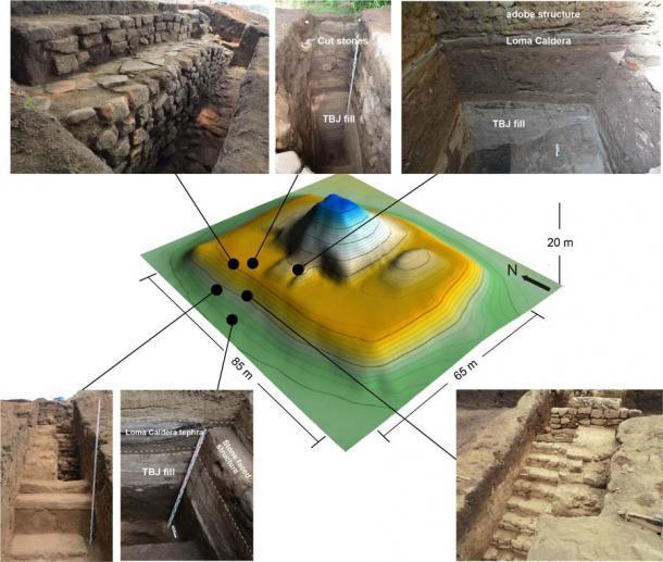 Choáng váng kim tự tháp trấn yểm siêu núi lửa nguyên vẹn sau 1.500 năm-2