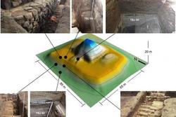 Choáng váng kim tự tháp 'trấn yểm' siêu núi lửa nguyên vẹn sau 1.500 năm