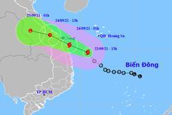 Bão số 6 di chuyển nhanh hướng vào Thừa Thiên Huế - Quảng Ngãi, các tỉnh miền Trung mưa rất to