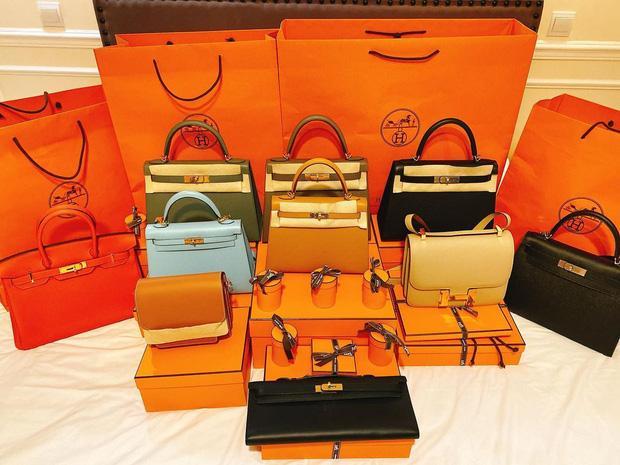 Đào Lan Phương một lần shopping rinh 20 túi hàng hiệu-2