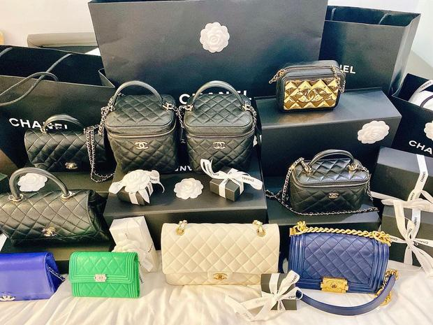 Đào Lan Phương một lần shopping rinh 20 túi hàng hiệu-3