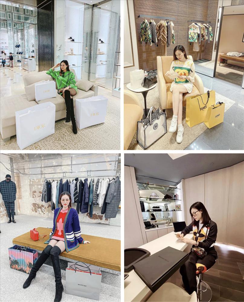 Đào Lan Phương một lần shopping rinh 20 túi hàng hiệu-4