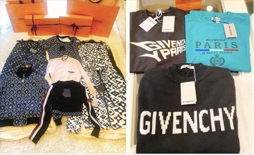 Đào Lan Phương một lần shopping rinh 20 túi hàng hiệu-5