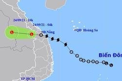 Bão số 6 suy yếu, miền Trung mưa lớn