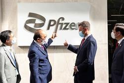 Pfizer sẽ cấp đủ 31 triệu liều vaccine cho Việt Nam năm 2021
