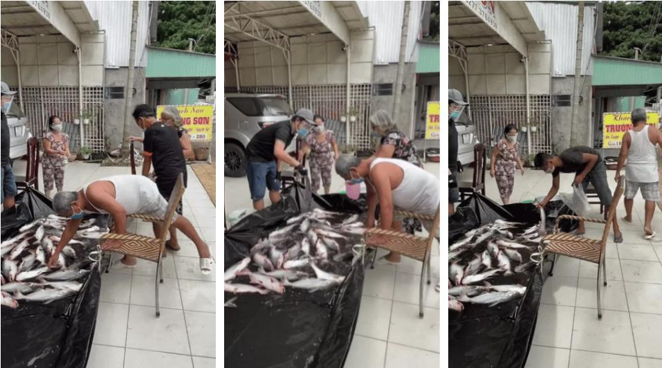Gia đình sộp nhất miền Tây: Mang hồ cá to để trước nhà, ai cần cứ lấy-1