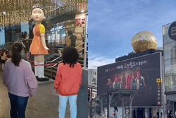 Hàn Quốc phục dựng bối cảnh của 'Squid Game' cho dân tình tới check-in