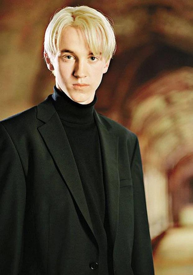 Không nhận ra Tom Felton Harry Potter: 34 tuổi mà già xọm như U50-6