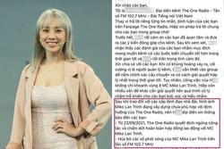 Phía Miko Lan Trinh nói về tin đồn bị cắt hợp đồng, tung tin nhắn làm chứng
