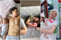 Kim Lý - Cường Đô La trông con: Người kín đáo, người 'thiếu vải'