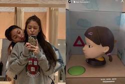 Jennie nhận quà 'rùng rợn' từ người đẹp 'Squid Game'