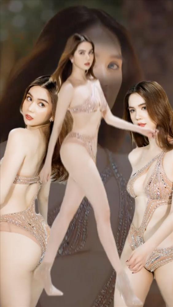 Ngọc Trinh mặc bikini bé bằng 3 ngón tay, có cả loại nhìn thấu-10