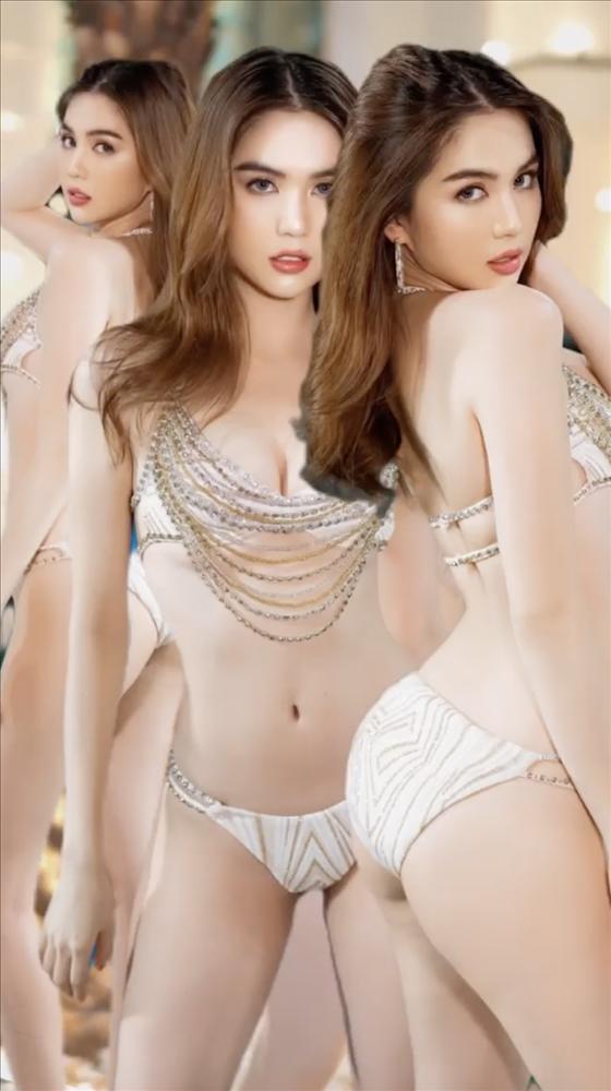 Ngọc Trinh mặc bikini bé bằng 3 ngón tay, có cả loại nhìn thấu-11