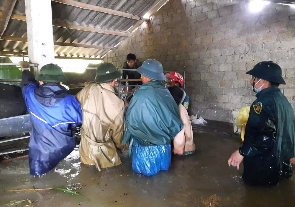 Thủy điện và hồ đập xả lũ, nhà dân ở Nghệ An ngập sâu trong nước-6