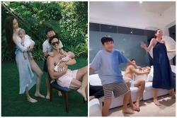 Kim Lý phải bảo vệ Lisa khi Hồ Ngọc Hà nhảy cùng Subeo