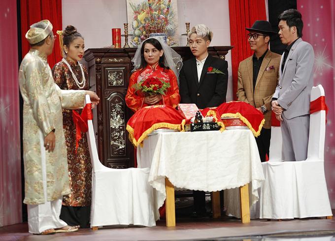 Lần duy nhất Phi Nhung mặc váy cưới, chú rể lại kém 24 tuổi-2
