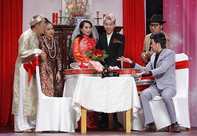 Lần duy nhất Phi Nhung mặc váy cưới, chú rể lại kém 24 tuổi-4