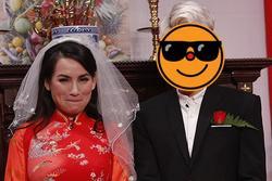 Lần duy nhất Phi Nhung mặc váy cưới, chú rể lại kém 24 tuổi