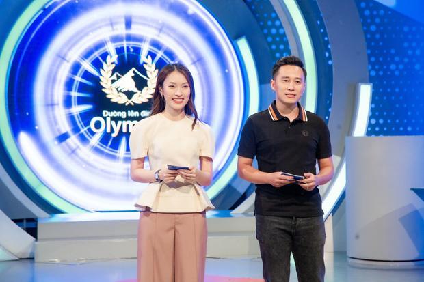 Khánh Vy nói gì sau lần đầu tiên làm MC Đường Lên Đỉnh Olympia?-1