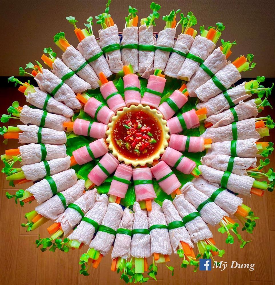 Gái đảm biến đồ ăn thành tác phẩm nghệ thuật ngắm cũng no-2