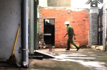 SỐC: 1 thi thể đầu lìa khỏi xác trong khu dân cư ở TP.HCM-2