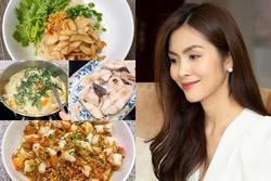 Tăng Thanh Hà ăn gì mùa dịch?