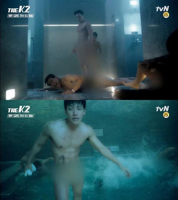 2 phim truyền hình Hàn no gạch đá vì để nam chính nude 100%-3