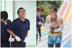 Nối gót Trấn Thành, Trường Giang quê độ vì bụng bia ở Running Man