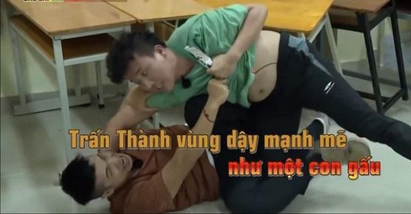 Nối gót Trấn Thành, Trường Giang quê độ vì bụng bia ở Running Man-13