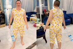 Ông xã Di Băng mặc đồ bà vú, bán dung dịch vệ sinh phụ nữ