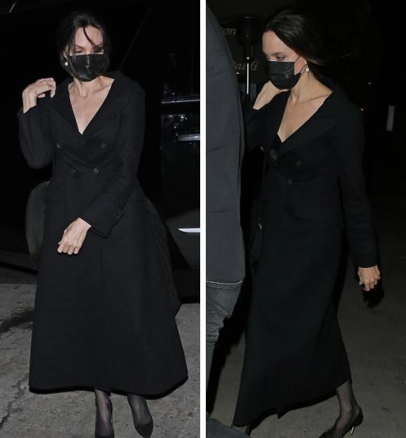 Angelina Jolie bị tóm gọn khoảnh khắc hẹn hò The Weeknd-6