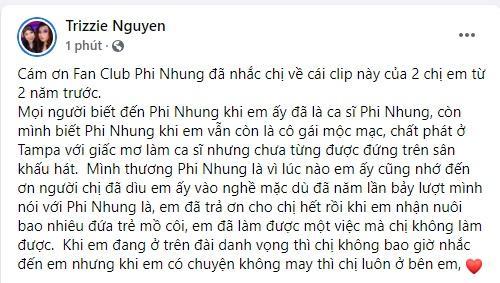 Vợ cũ Bằng Kiều nhắc đến Phi Nhung bất chấp bị dằn mặt-4