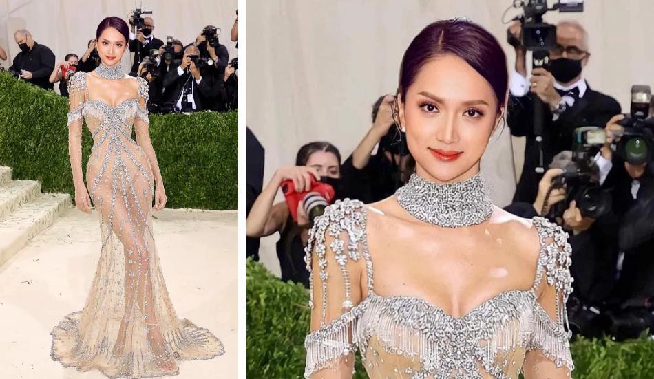 Hương Giang đổ bộ sự kiện với váy xuyên thấu hệt Kendall Jenner?-1