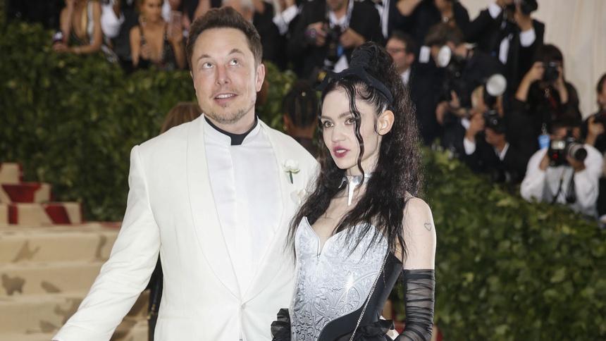 Elon Musk và ca sĩ Grimes - đôi tình nhân dị biệt-2