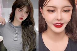 Hot girl 5 triệu follow lộ nhan sắc, hàng thật ngã ngửa