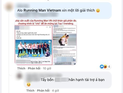 Thành viên ê-kíp Running Man chửi khán giả quá thô tục?-5