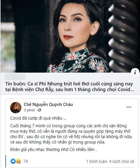 Phi Nhung qua đời, làng showbiz Việt ngập trong nước mắt-6