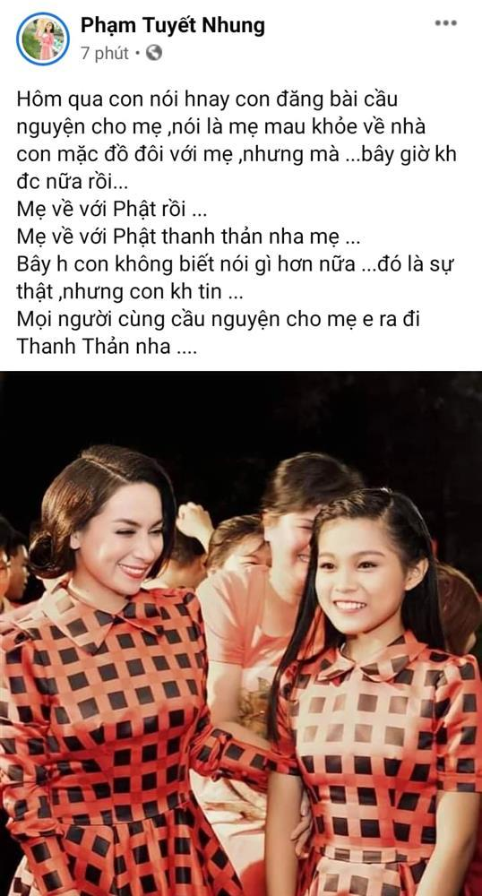 Con ruột thay ảnh để tang Phi Nhung, đàn con nuôi khóc nghẹn-6