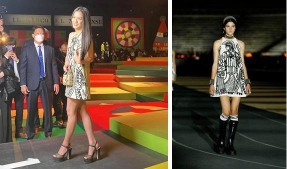 Jisoo ở show Dior: Ảnh chụp lén vẫn xuất sắc như Hoa hậu-5